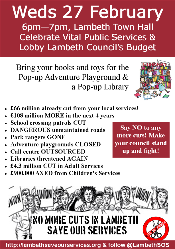a5 lobby leaflet front