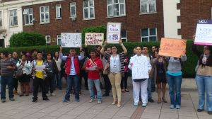 Lambeth College ESOL protest