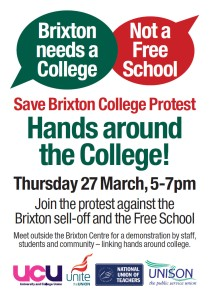 27 Mar protest poster